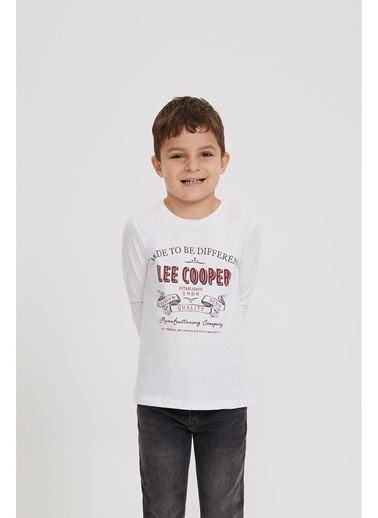 Lee Cooper Sweatshirt Beyaz